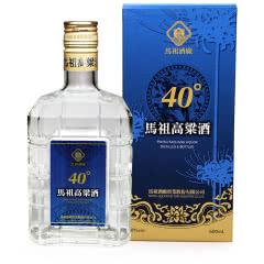 台湾马祖酒厂纯高粱酒40度清香型热销瓶装600ml*1