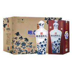 河南酒  赊店老酒青花瓷明青花52度500ml 浓香型白酒 52度6瓶整箱