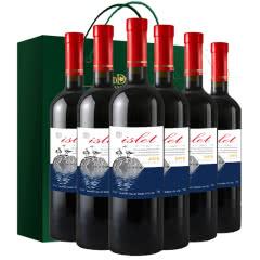威龙澳洲进口梅洛islet小岛干红葡萄酒750ml*6
