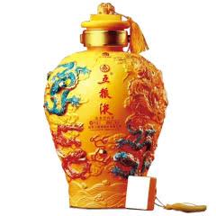 52°五粮液股份出品高度白酒 九龙坛5000ml大坛酒浓香型收藏礼盒