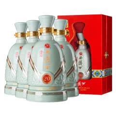 【老酒特卖】52°西凤酒古青瓷20 500ml(4瓶装)(2012-2013年)