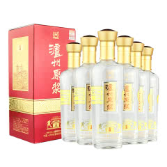 52°泸州老窖股份 泸州原浆酒 鉴藏 白酒500ml*6瓶整箱