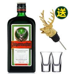 35°德国野格(圣鹿)利口酒力娇酒洋酒700ml(赠金色鹿头+子弹杯*2)