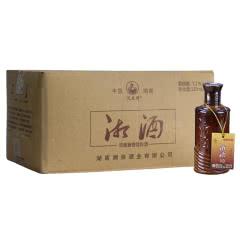 52度湘酒 凤凰情  浓酱兼香型白酒 125ml*24瓶整箱装