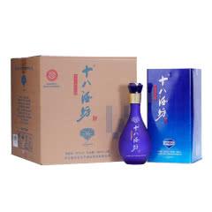 40°十八酒坊 蓝钻V6 老白干香型白酒 480ml*4瓶整箱装