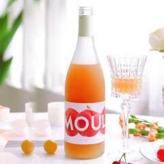 慕拉(MOULA) 蜜桃水果酒女士低度甜酒国产非原瓶进口 桃子酒750ml