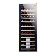 小野兽·压缩机酒柜 (榉木层架)50支装