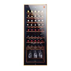 小野兽·压缩机酒柜 (不锈钢层架)50支装可挂杯