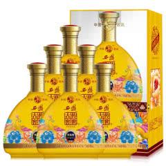 西凤 52度西凤 婚宴结婚 黄瓶 送礼白酒 传世古窖 (优品级 )整箱6瓶