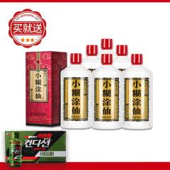 小糊涂仙(普仙)浓香型白酒 38度500ml 6瓶装 送肯迪醒饮料10瓶