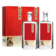 52度 泰山论剑 旭日东升 固态纯粮 浓香型白酒 500ml*2双瓶装