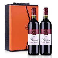 法国拉菲珍藏波尔多法定产区红葡萄酒750ml(双支礼盒装)