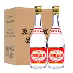 53°2014年山西杏花村特产老酒清香型高粱白酒475ml(2瓶)