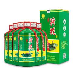 53°荷花酒贵州茅台镇  酱香型白酒整箱500ml*6瓶(整箱装)