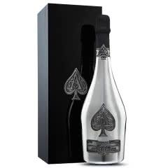 法国原瓶进口葡萄酒 黑桃A白金香槟 单支 礼盒装 750ml