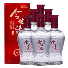 42度今世缘红经典白酒500ml(6瓶装)