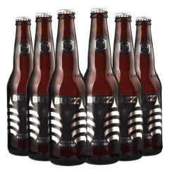 BUZZ蜂狂精酿龙眼蜜小麦啤酒330ml(6瓶装)