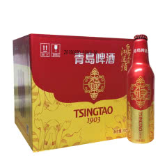青岛啤酒鸿运当头355ml*12瓶整箱装