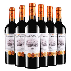张裕先锋法国原瓶进口红酒乐高贵族城堡庄主珍藏干红葡萄酒整箱装 750ml*6
