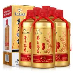 52°贵州茅台酒厂集团技术开发公司 茅台醇香V20白酒500ml*6瓶装金装版礼盒
