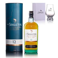 40°英国苏格登格兰欧德12年单一麦芽苏格兰威士忌 700ml+凯恩杯173ml
