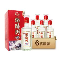 52°浏阳河 喜湘缘 浓香型高度白酒 475ml*6瓶整箱装