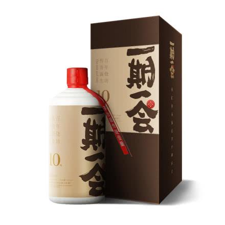 53°一期一会 酱粹-拾 酱香型白酒 500ml