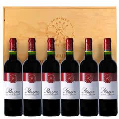 法国拉菲珍藏波尔多干红葡萄酒750ml*6 整箱装 ( 正品行货)