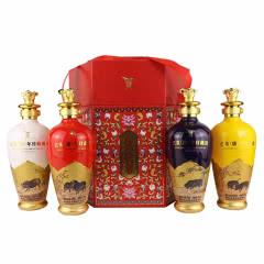 52°全兴 乙亥猪年珍藏酒生肖 礼盒装送礼 浓香型 500ml*4瓶(礼盒)