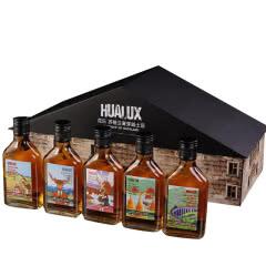 40°花乐屋型礼盒麦芽威士忌200ml*5