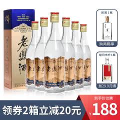 52度 老凤酒 1988蓝标高脖浓香型 纯粮食白酒500ml*6 整箱装