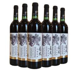 通天葡萄酒山葡萄酒优选甜红酒750ml(6瓶装)