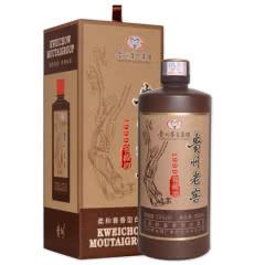 53°贵州茅台集团 贵州老窖 1999窖藏酒 柔和酱香型白酒 500mL 白酒单瓶装