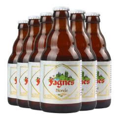原装进口比利时精酿啤酒法尼斯金啤酒330ml(6瓶装)