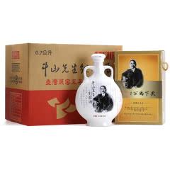 52°玉山高粱酒天下为公中山先生纪念酒台湾原窖五年陈年高粱白酒整箱700ml(6瓶装)