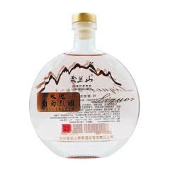 吉林特产雪兰山玫瑰葡萄烈酒40度225ml 1瓶