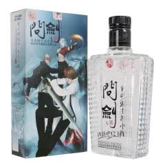 42度西凤绵柔凤香型游戏版问剑小酒白酒125ml 单瓶