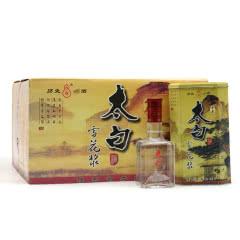45度太白酒浓香型 2005年产陈年老酒 收藏酒 自饮白酒 整箱12瓶
