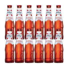 法国进口克伦堡凯旋1664啤酒 树莓果味啤酒250ml(12瓶装)