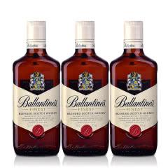 40°英国百龄坛特醇苏格兰威士忌500ml(3瓶装)