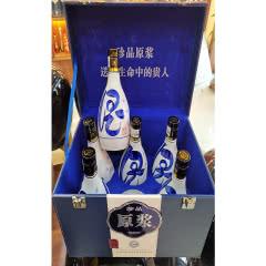 纯粮食53度皮盒原浆500ml*6瓶清香型白酒整箱特价