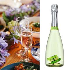 4.5°维科尼娅 白葡萄味酒 汽泡酒 甜酒香槟 730ml单瓶装