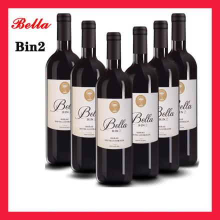 澳洲原装进口干红葡萄酒安娜贝拉-BIN2西拉(SHIRAZ)750ml六瓶装