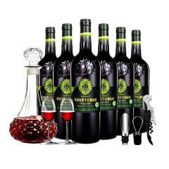 名仕艾菲尔AFEIR 甄选系列 有机干红葡萄酒 (重型瓶)750ml*6 整箱装