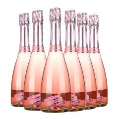 4.5度【蜜桃味】维科尼娅 甜型汽泡酒低度少女葡萄酒 730ml*6整箱装