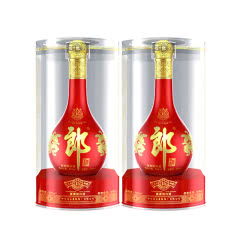 【官方授权】53°郎酒红花郎15红花郎十五酱香型白酒500ml(2瓶装)
