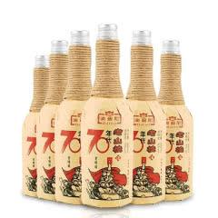 6度澳迪尼老山楂酒果酒甜型红酒70年代老味道整箱600ml×6瓶