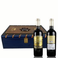 拉菲传奇·公爵干红葡萄酒2013红酒750ml*2瓶重型瓶金属标