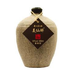 53°美仙醉 酱香型白酒 贵州茅台镇 纯粮食 白酒单瓶500ml
