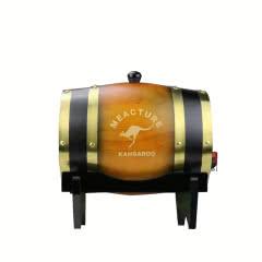 澳大利亚米爵袋鼠西拉干红葡萄酒木桶装